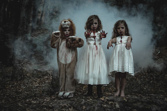 Terrified Of Kids? These Creepy Photos Won't Help