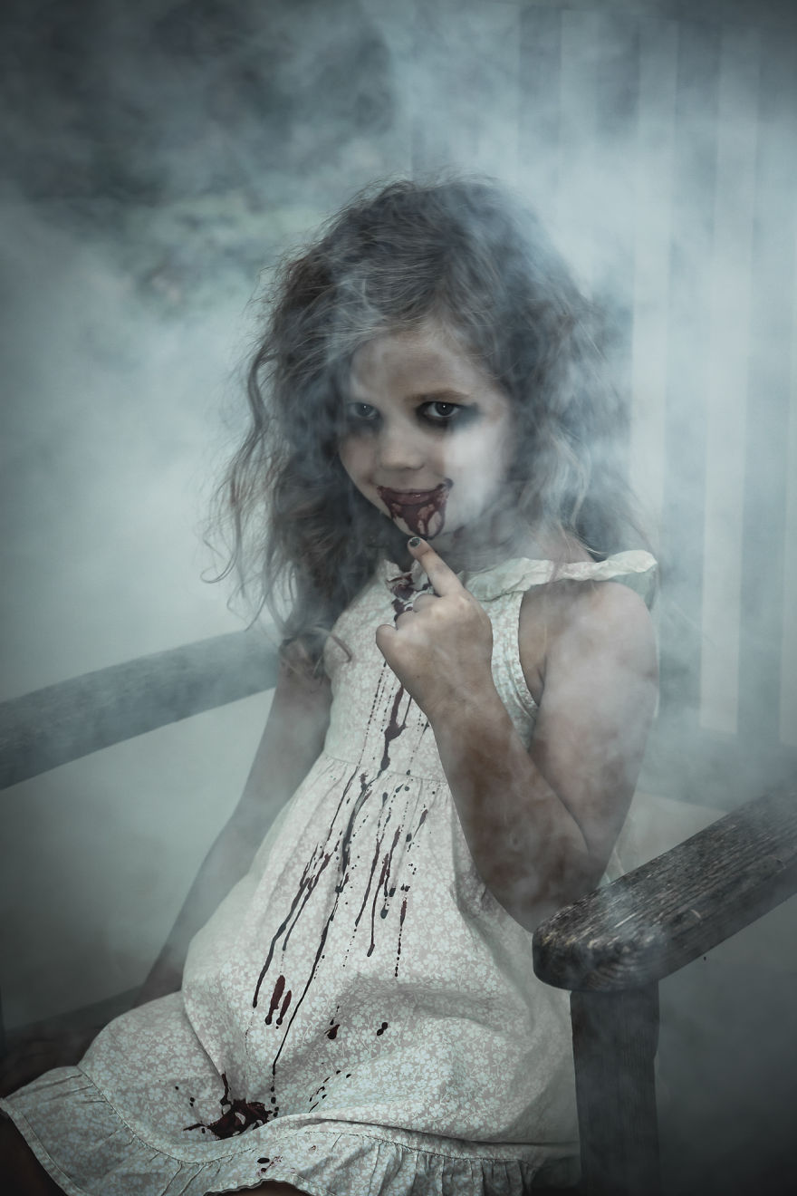 Terrified Of Kids These Creepy Photos Won T Help Bored
