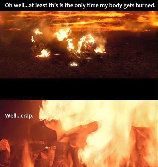 Poor Vader...