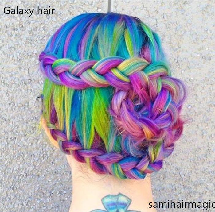 Galaxy Hair That's Outta This World