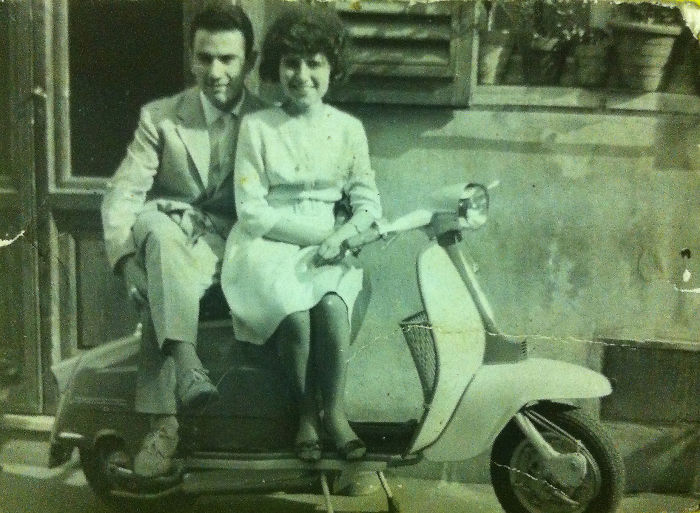 Young Couple In Florence, My Dad & Mom (1964 Ca.)