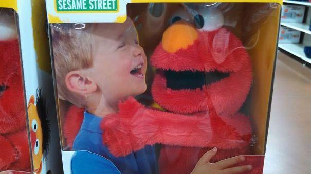 Strangle-me Elmo?