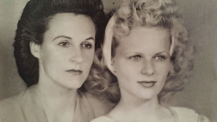 Mother And Daughter; Circa.1935