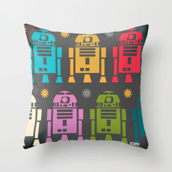 Star Wars Robots Cushion