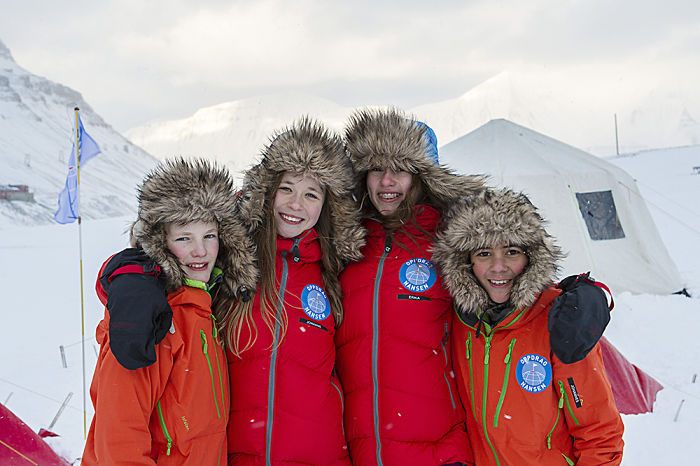 These Kids Are The Youngest Ever To Ski To The North Pole, But They Are Not Looking For Santa!