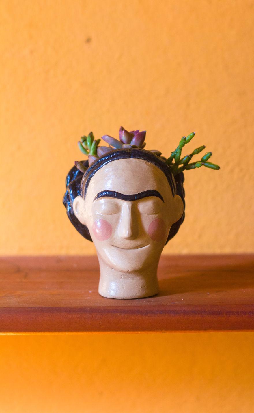 Frida Kahlo Planter