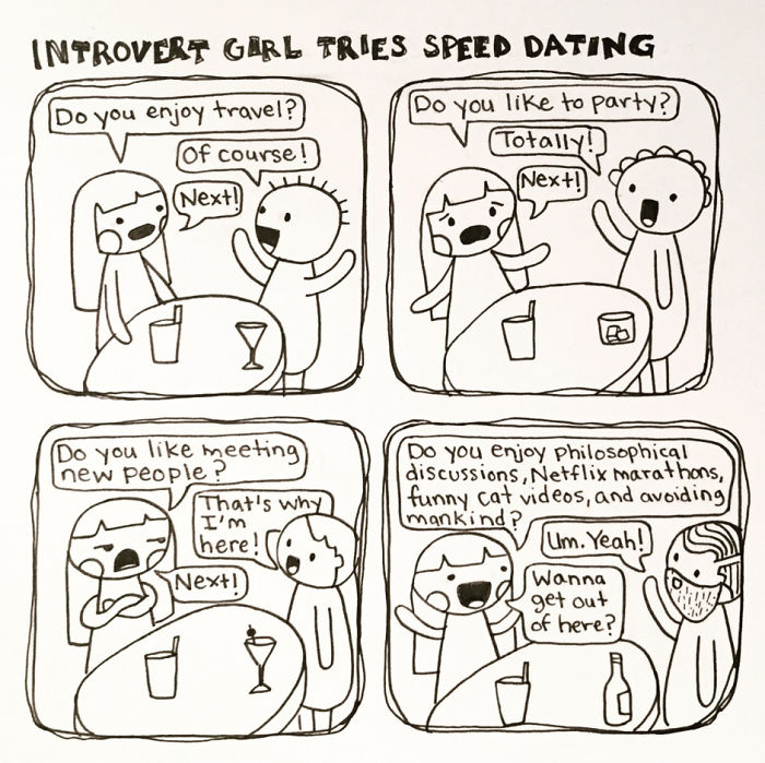 speed dating for introverts staffanstorp