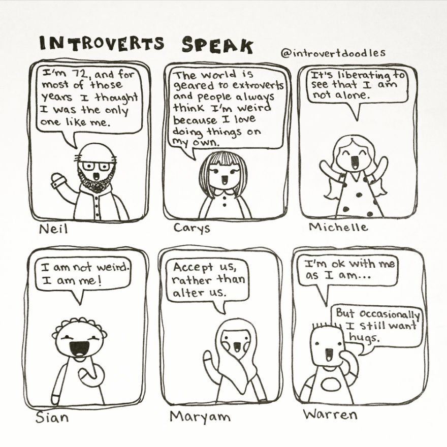 Direct Quotes From Fellow Introverts