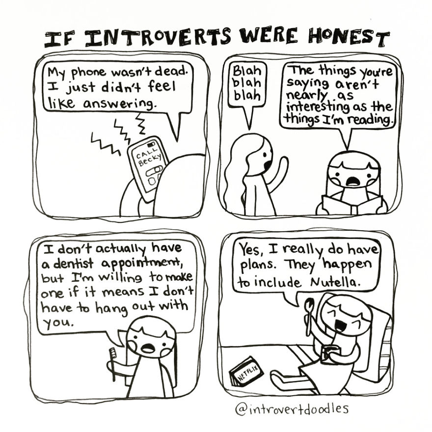 If Introverts Were Honest