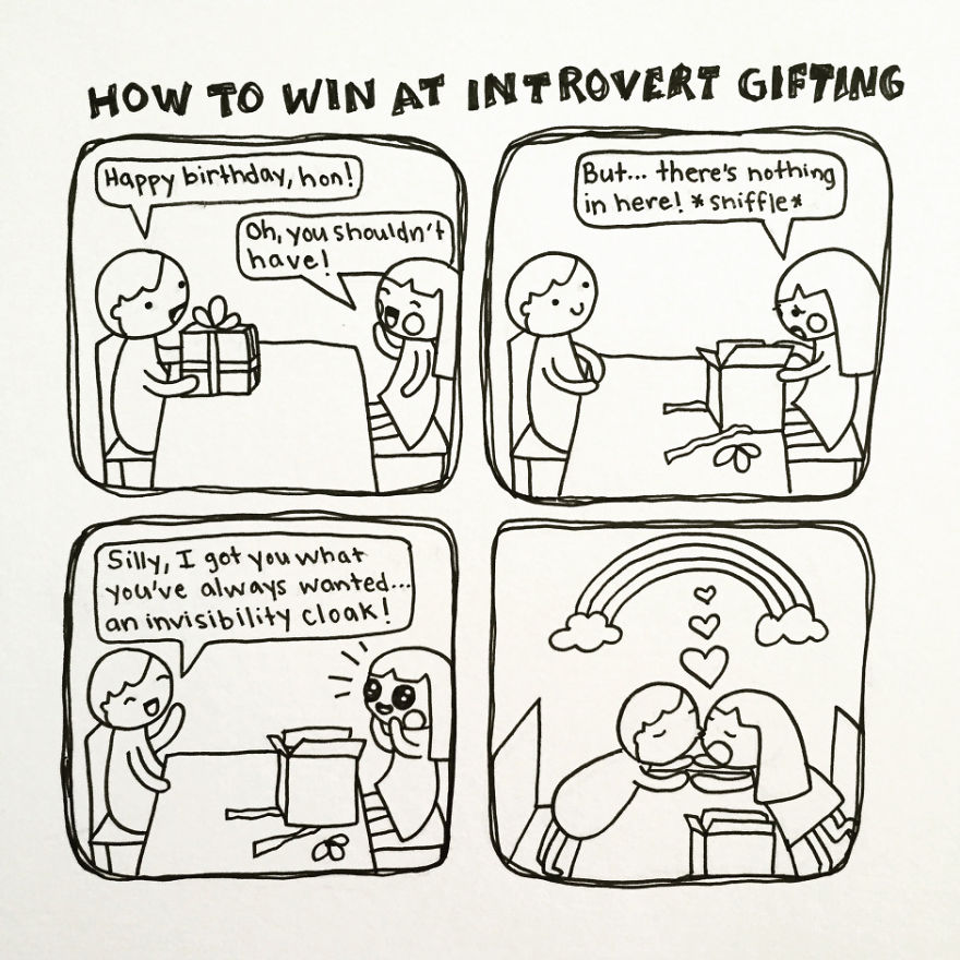 Introvert Gifting