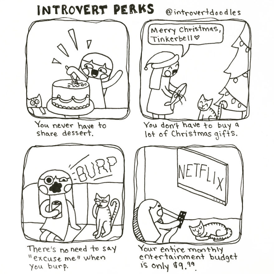 Introvert Perks