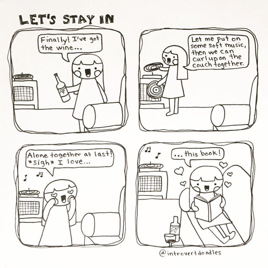 Let's Stay In. Forever