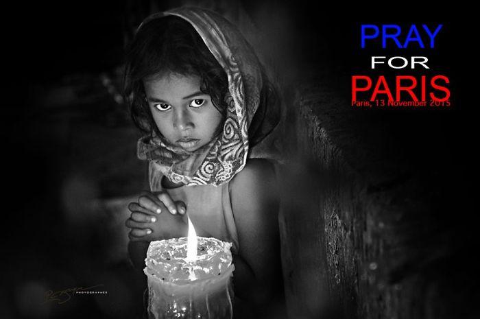 #PrayForParis From Vietnam (Nguyen Vu Phuoc)
