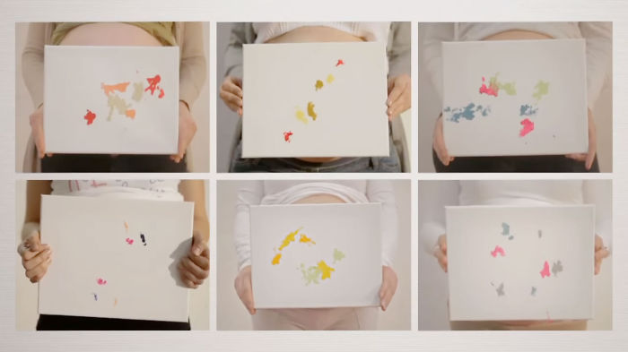 Paintings Made By Unborn Babies