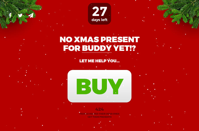 A Website To Hint Your Friends About What You Want For Xmas