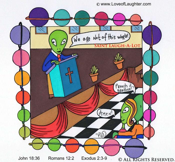 "Alien Christians…paul Said, ""i Am An Alien In This World…"" Notw"