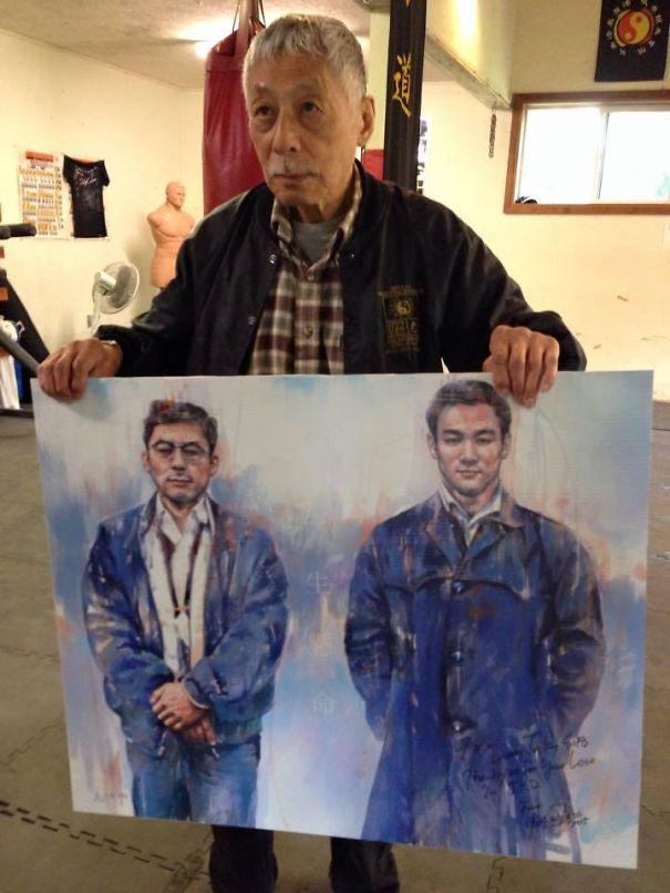 Taky Kimura With Art By Milton Wong