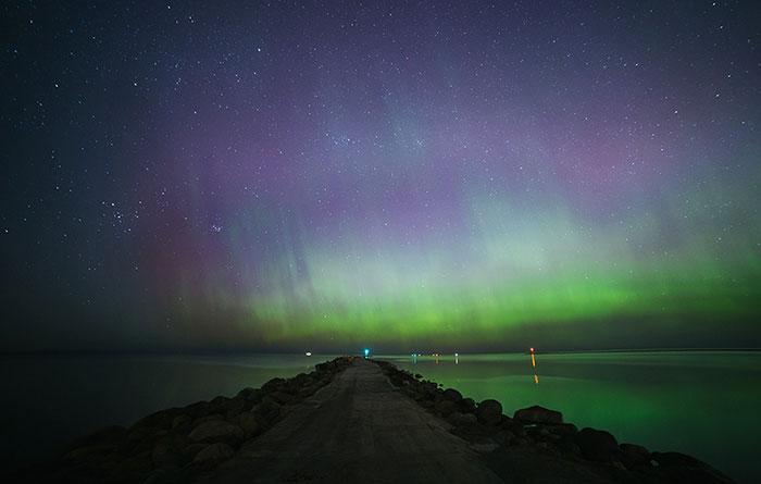 My Little Dream Came True And I Captured Aurora Borealis In Riga, Latvia