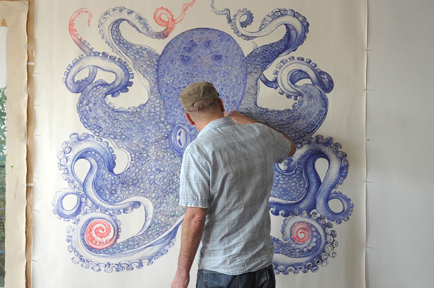 ballpoint-pen-drawing-octopus-raymond-cicin--1