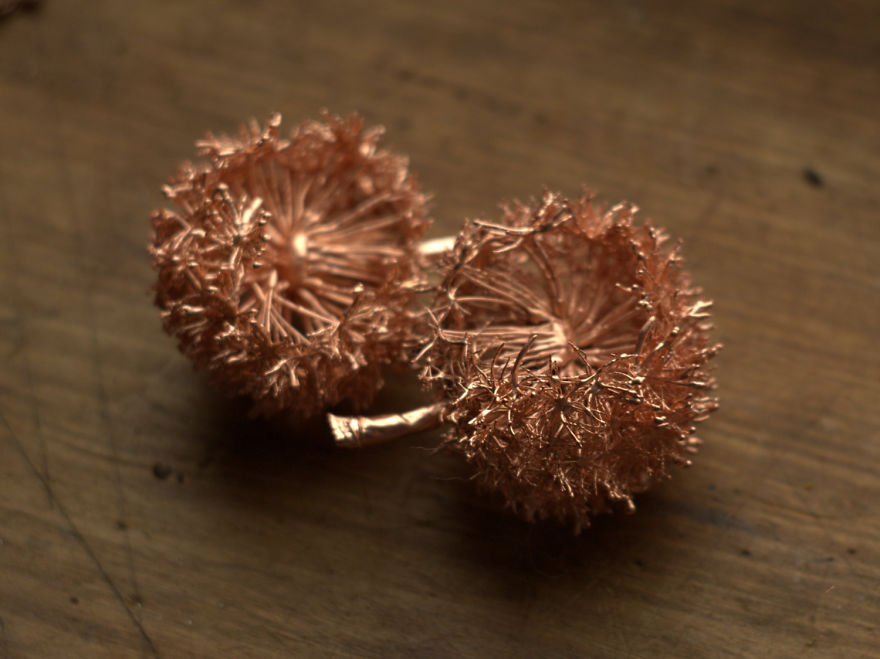 Beautiful Jewelry Made From Natural Objects Using