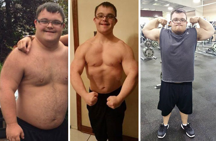 Man With Down Syndrome Fulfills His Dream By Becoming A Body-Builder