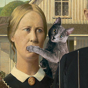 Photoshopping Your Cat Into Classic Artwork Will Never Get Old