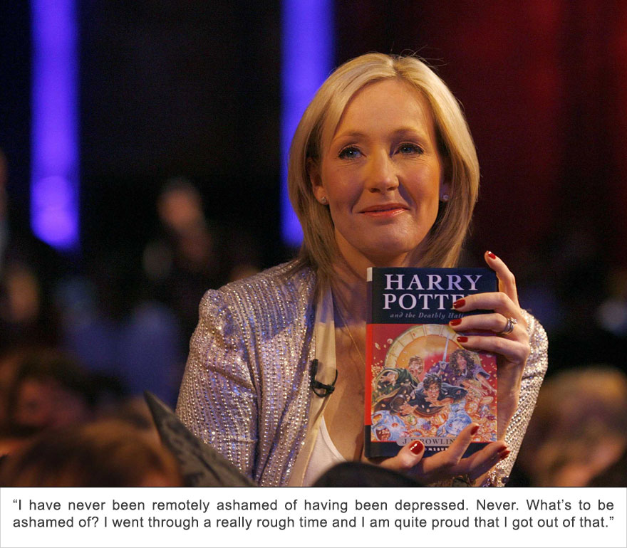 J. K. Rowling, Depression