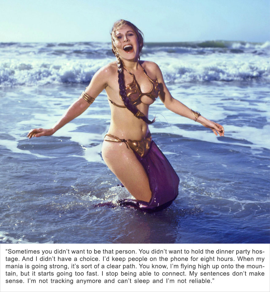 Carrie Fisher, Bipolar I Disorder