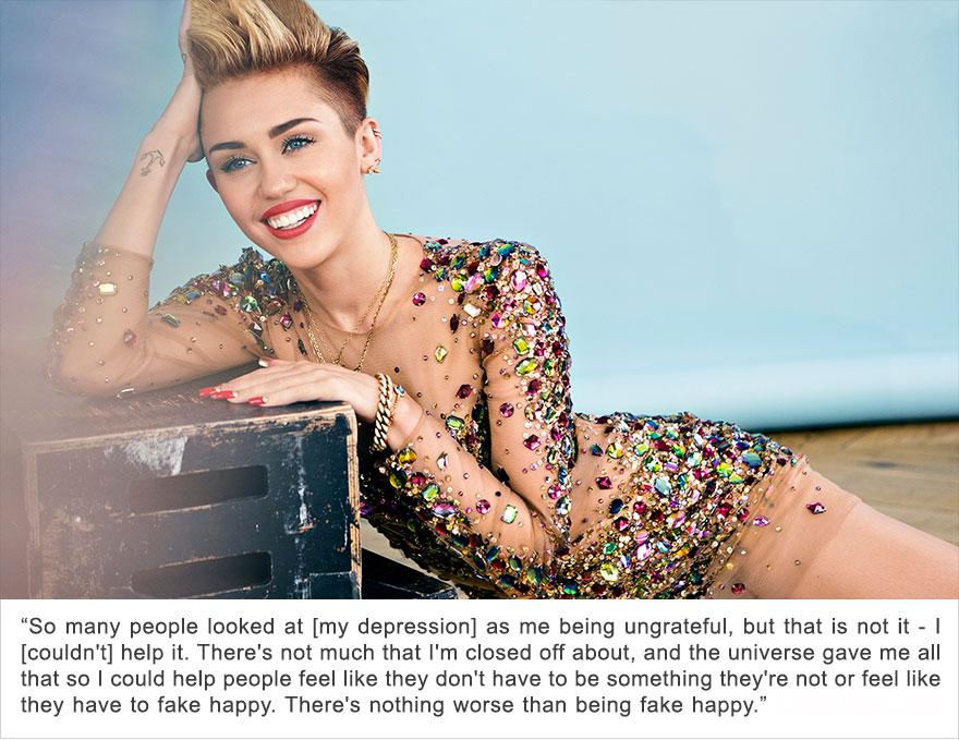 Miley Cyrus, Depression