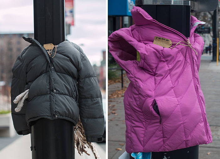 27b2ebb1b These Kids In Canada Tied Coats To Street Poles To Help Homeless ...