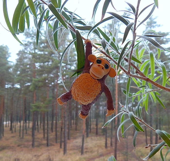 Christmas Ornament Monkey