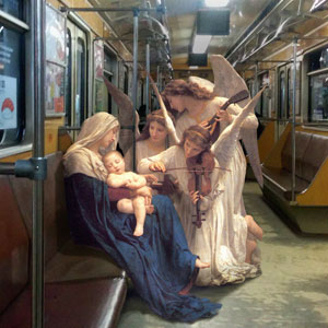 People From Classic Paintings Inserted Into Modern City Life (Part 2)