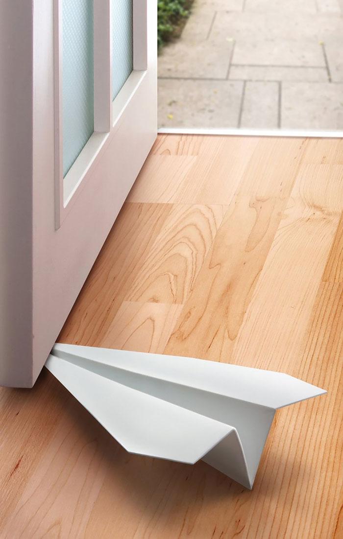 Paper Plane Doorstop