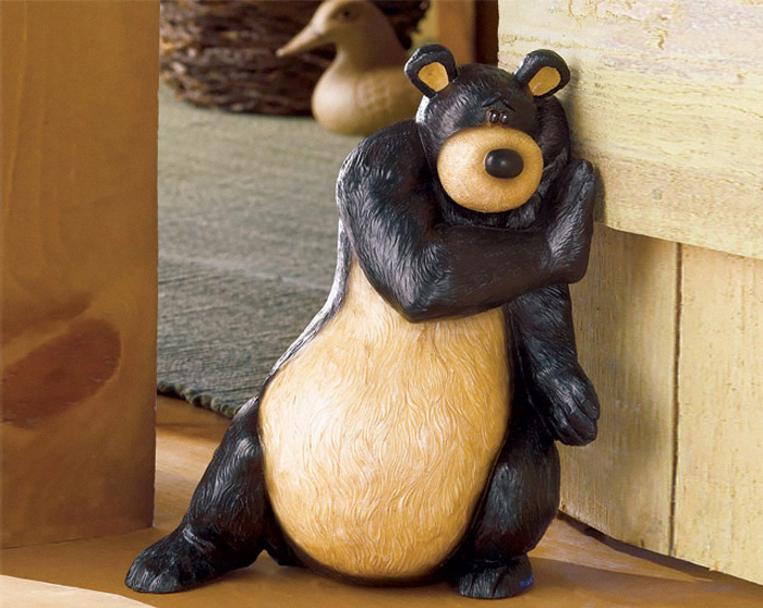 Whimsical Wildlife Doorstop