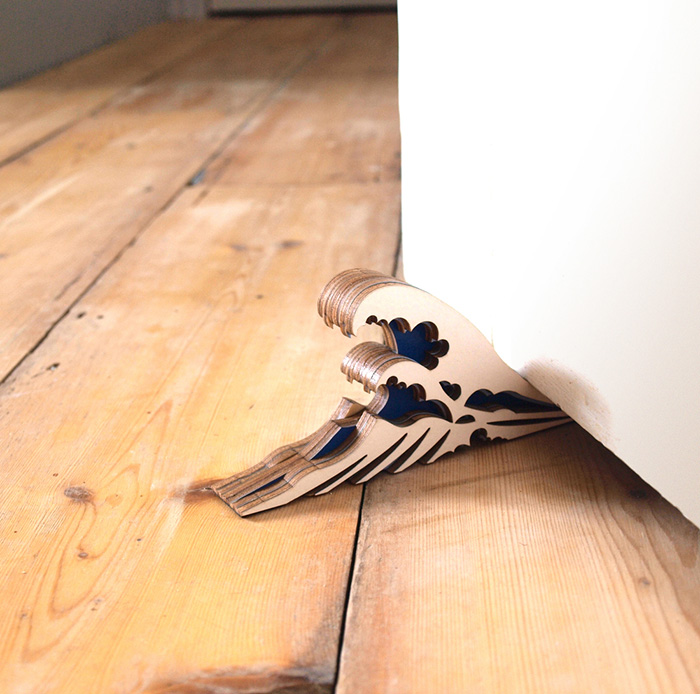 Great Wave Doorstop