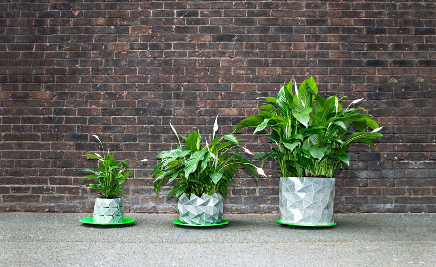 15 of the most creative planter designs ever bored panda - Pot de fleur intelligent ...