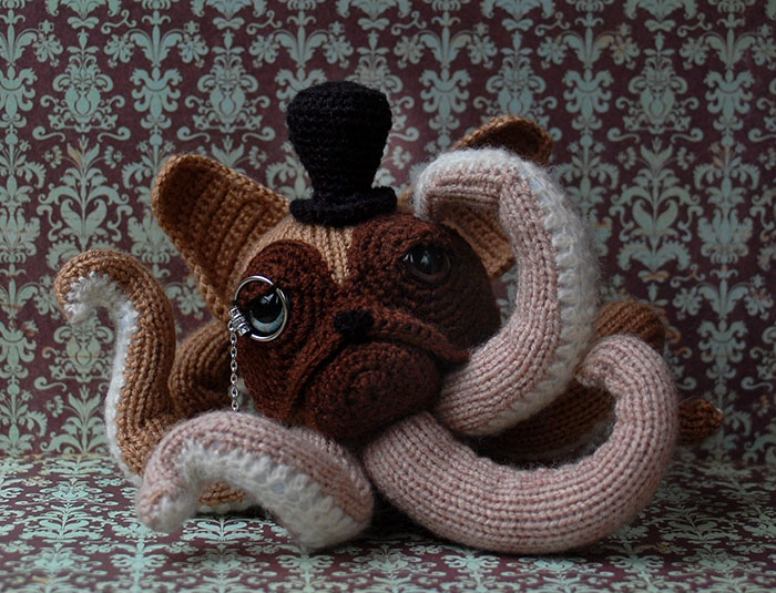 I Crochet Octodogs Based On Different Dog Breeds