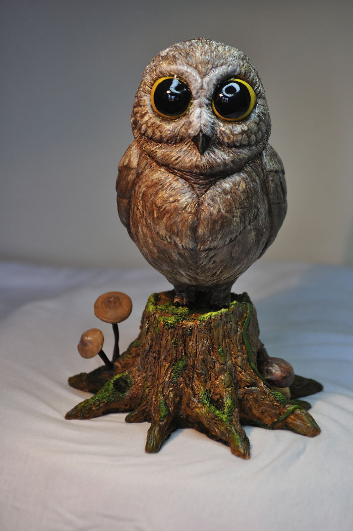 Cute Little Owl: I Made This Tiny Bird