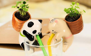 Cute Self-Watering Animal Planters