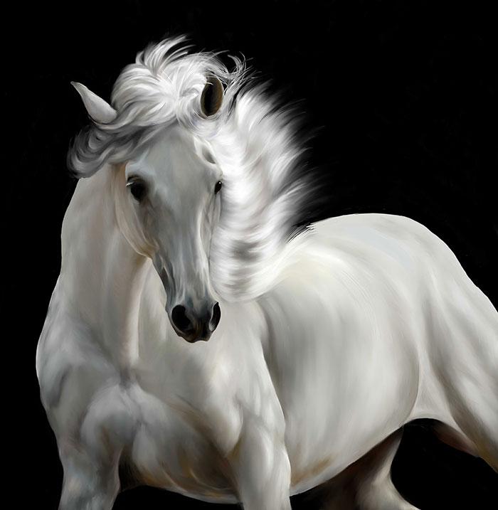 I Create Digital Horse Paintings (Part 2)