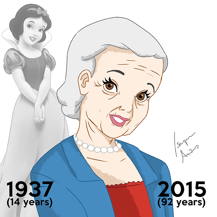 I Made Disney Princesses Look The Age They'd Be Today