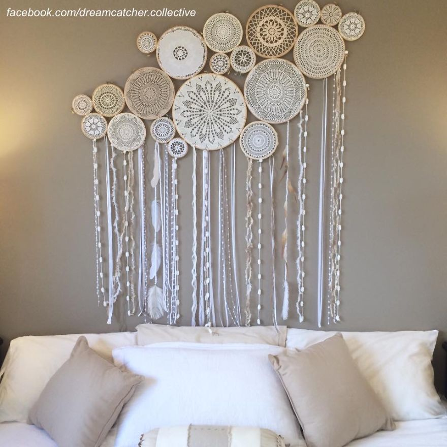 dreamcatcher wall murals by dreamcatcher collective bored panda. Black Bedroom Furniture Sets. Home Design Ideas