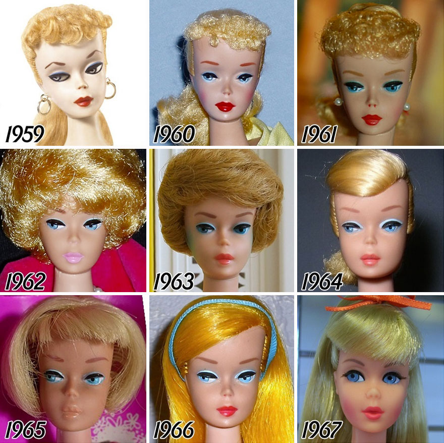 evolutia-papusii-Barbie