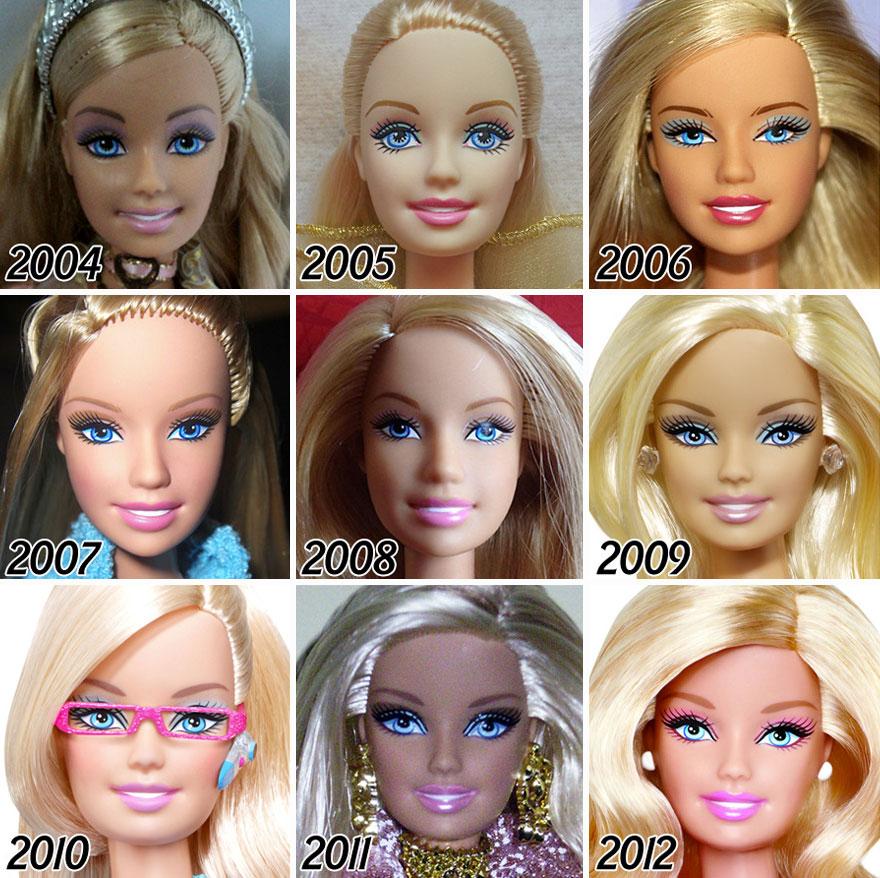Những hoa khôi barbie giai đoạn 2004-2012