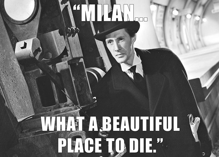 John Carradine Died From Multiple Organ Failure At Fatebenefratelli Hospital In Milan, Italy At Age 82. Hours Before He Died, He Climbed The 328 Steep Steps Of Milan's Gothic Cathedral, The Duomo