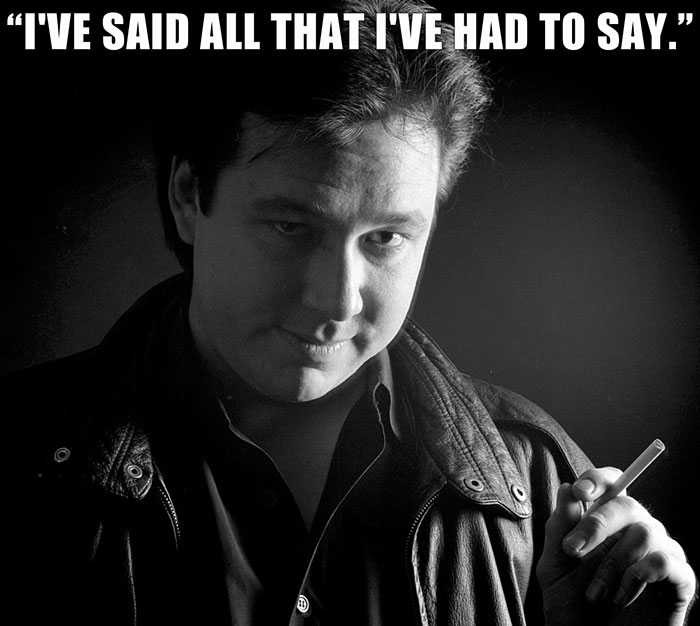 Bill Hicks Didn't Die Until 11 Days Later, But He Quit Speaking After Saying This