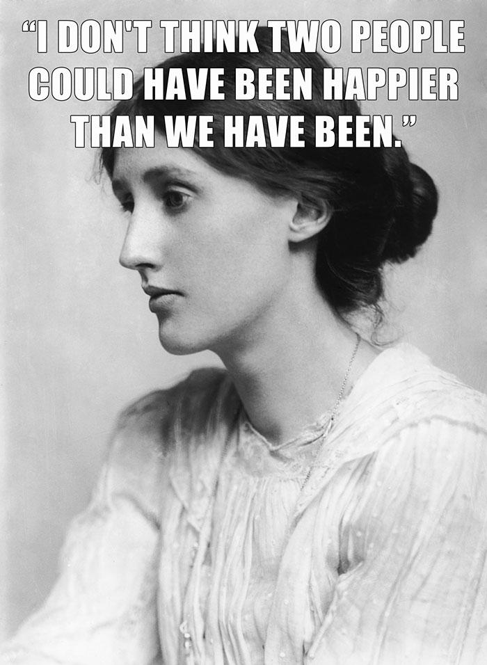 Virginia Woolf's Last Sentence In Her Suicide Note To Her Husband