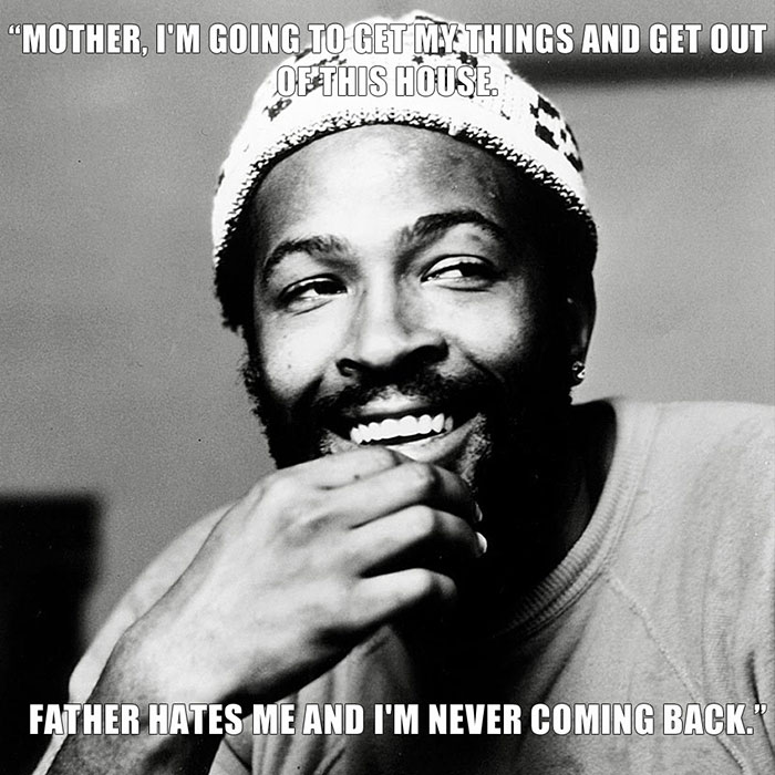 Marvin Gaye Said This Moments Before Being Fatally Shot By His Father, Marvin Gaye, Sr
