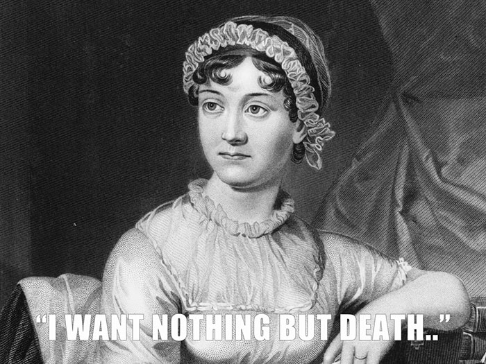 Jane Austen's Response To Her Sister Cassandra Who Had Asked Her If She Wanted Anything