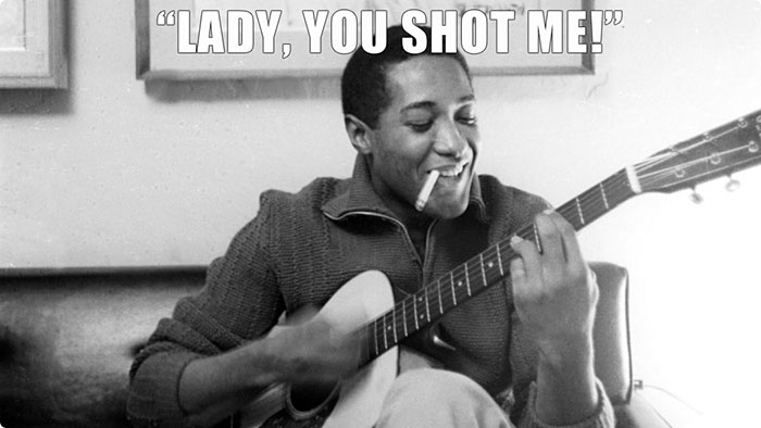 Sam Cooke Said This After Being Shot At The Hacienda Motel